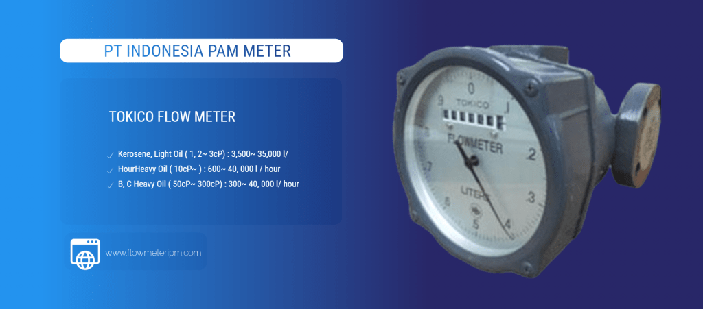 Slider Tokico Flow Meter